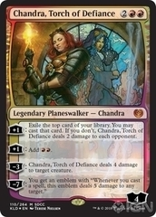 Chandra, Torch of Defiance - Foil - SDCC 2018 Exclusive