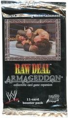 Raw Deal Armageddon Booster Pack