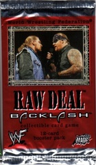 Raw Deal Backlash Booster Pack