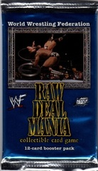 Raw Deal Mania Booster Pack