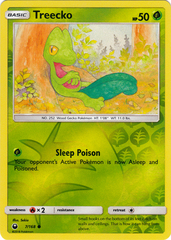 Treecko - 7/168 - Common - Reverse Holo