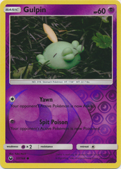 Gulpin - 57/168 - Common - Reverse Holo