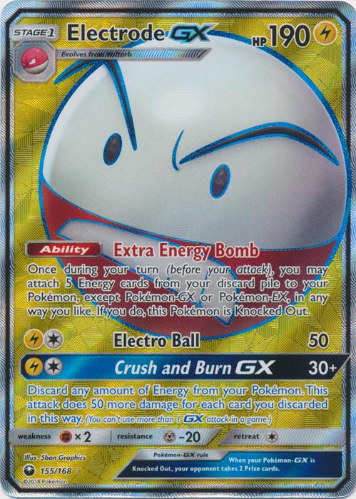 Electrode GX - 155/168 - Full Art Ultra Rare