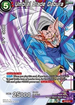 Umbral Blade Dabura - EX03-04 - EX