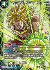 Deathless Warrior Broly - EX03-16 - EX