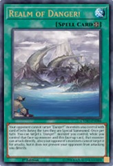 Realm of Danger! - CYHO-EN086 - Ultra Rare - 1st Edition