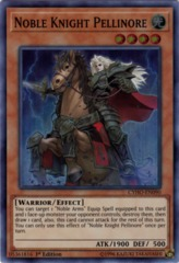 Noble Knight Pellinore - CYHO-EN090 - Super Rare - 1st Edition