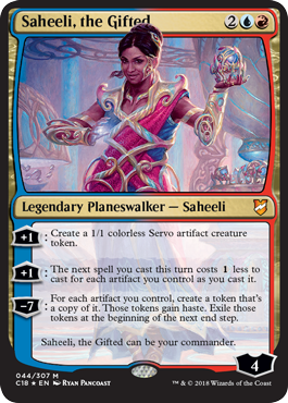 Saheeli, the Gifted - Foil