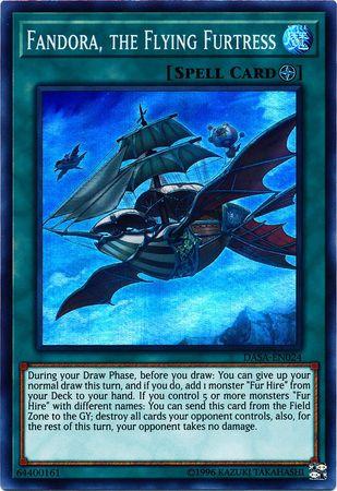 Fandora, the Flying Furtress - DASA-EN024 - Super Rare - Unlimited