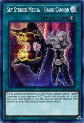 Sky Striker Mecha - Shark Cannon - DASA-EN036 - Secret Rare - Unlimited