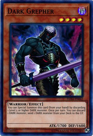 Dark Grepher - DASA-EN042 - Super Rare - Unlimited