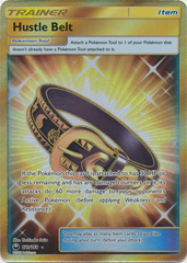 Hustle Belt - 179/168 - Secret Rare