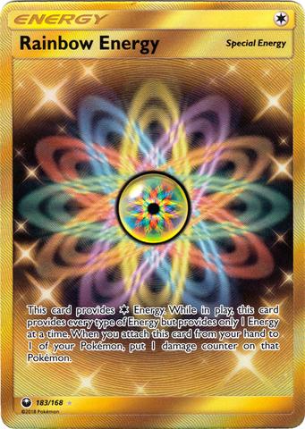 Rainbow Energy - 183/168 - Secret Rare