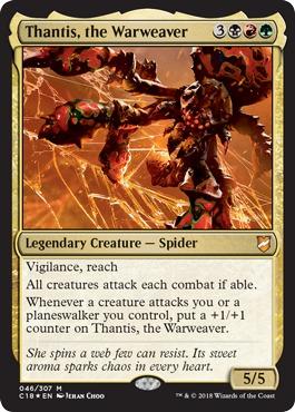 Thantis, the Warweaver - Foil