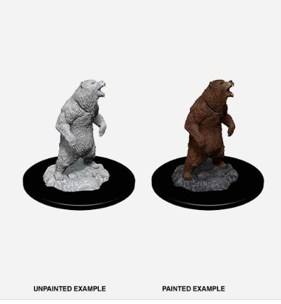 Pathfinder Battles Unpainted Minis - Grizzly