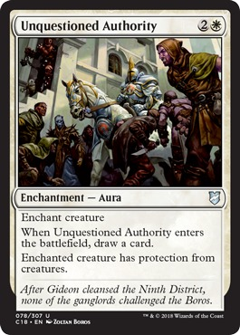Unquestioned Authority