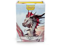 Dragon Shield Sleeves: Art Matte Qoll (Box Of 100)
