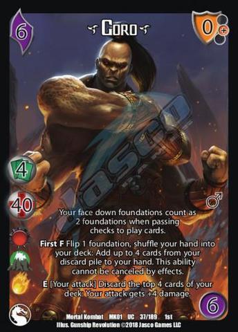 Goro* - Universal Fighting System » Universal Fighting