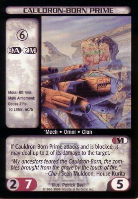 Cauldron-Born Prime