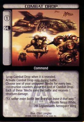 Combat Drop