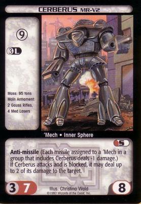Cerberus (MR-V2)