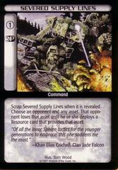 Severed Supply Lines