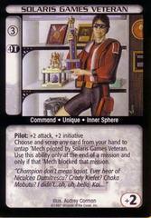 Solaris Games Veteran