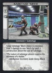 Sabotage 'Mech