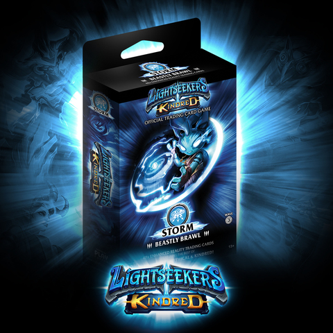 Lightseekers: Kindred - Storm Starter Deck [Beastly Brawl]