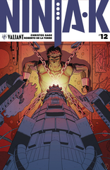 Ninja-K #12 (Cover A - Kano)