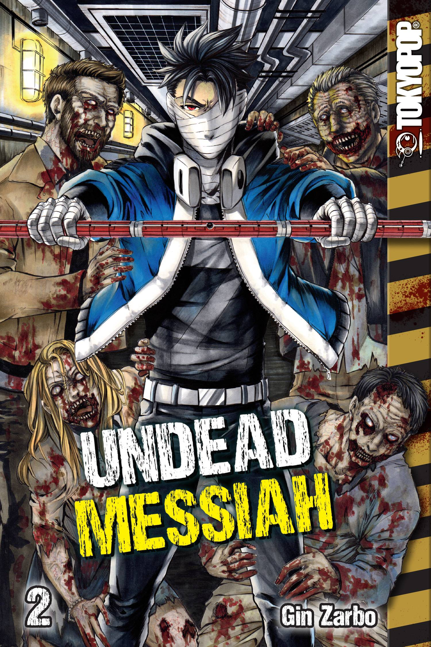 Undead Messiah Manga Gn Vol 02 (STL091947)