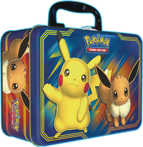 Pikachu And Eevee Collector's Chest Tin