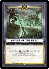 Armies of the Dead (Claimed) - Foil