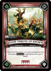 Blood Throne of Khorne (Unclaimed) - Foil