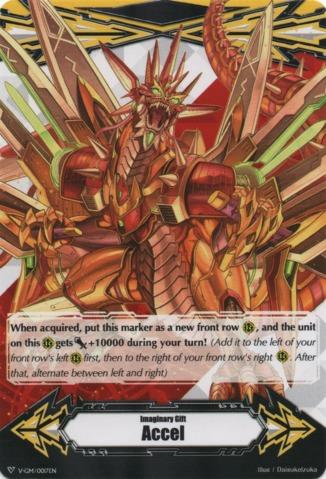 Imaginary Gift [Accel] - Ravenous Dragon, Gigarex - V-GM/0017EN - PR