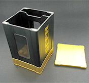 Box Gods Seer Deluxe Gold Deck Box