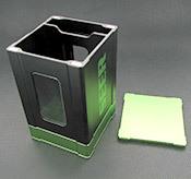 Box Gods Seer Deluxe Green Deck Box