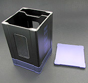 Box Gods Seer Deluxe Purple Deck Box