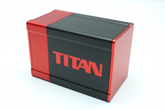 Box Gods Titan Deluxe Red Deck Box