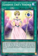 Goddess Urd's Verdict - SHVA-EN010 - Super Rare - 1st Edition