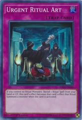 Urgent Ritual Art - SHVA-EN060 - Super Rare - 1st Edition