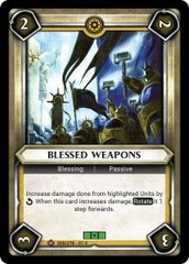 Blessed Weapons (Unclaimed)