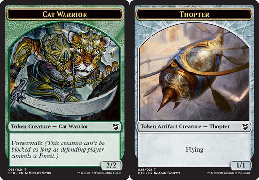 Cat Warrior Token // Thopter Token (026)