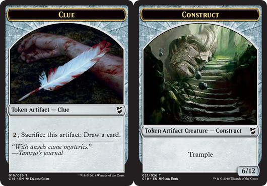 Clue Token // Construct Token (021)