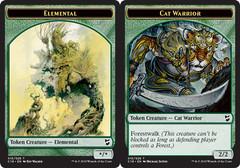 Elemental Token // Cat Warrior Token