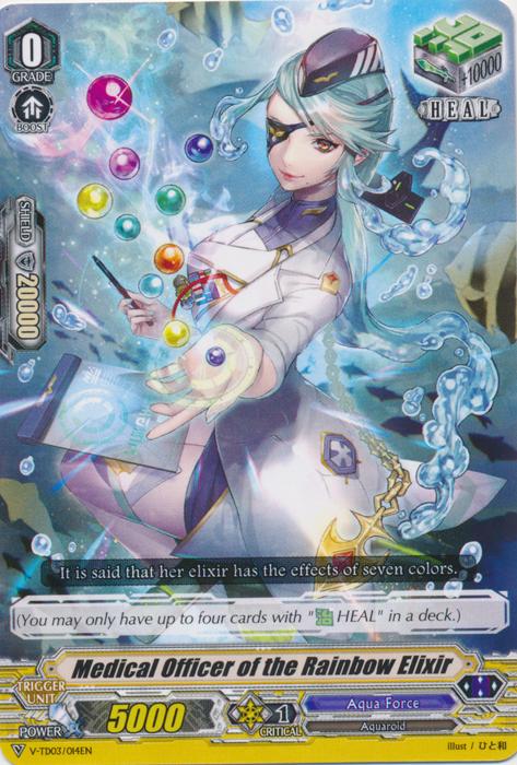 Medical Officer of the Rainbow Elixir - V-TD03/014EN