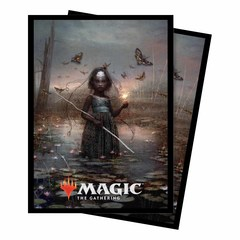 Ultra Pro - Commander 2018 Aminatou, the Fateshifter Standard Deck Protector sleeves 100ct