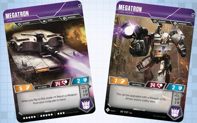 Megatron // Living Weapon