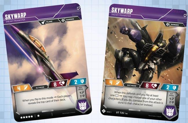 Skywarp // Sneaky Prankster