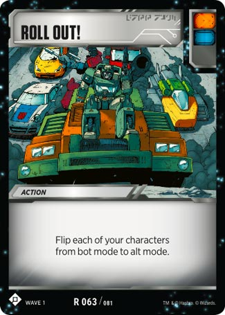 Roll Out! - Transformers TCG Singles » Season 1 - The Toy Trove
